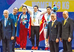 挺舉140公斤 總和246公斤 破世界紀錄 郭婞淳世錦賽 舉雙金