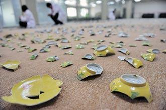 碎瓷器10萬片 圓明園拼給你看