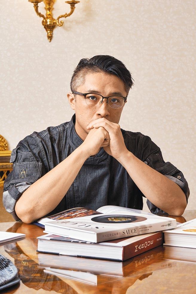 台北華國牛排館主廚林聖哲。(華國牛排館提供)