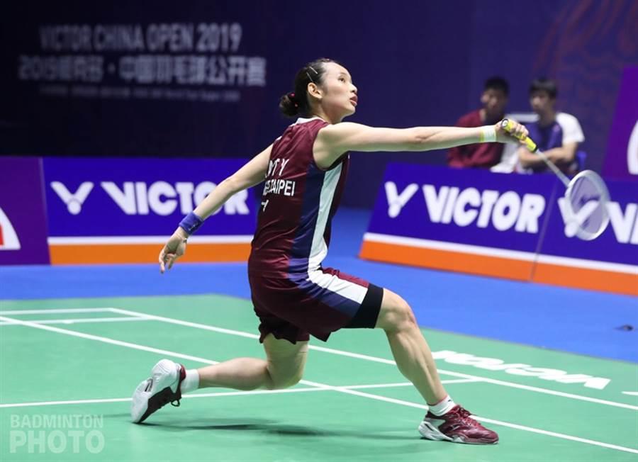 戴資穎在中國羽球公開賽屈居亞軍,不過下周最新世界排名還是會重返世界第1。(Badminton Photo提供/陳筱琳傳真)