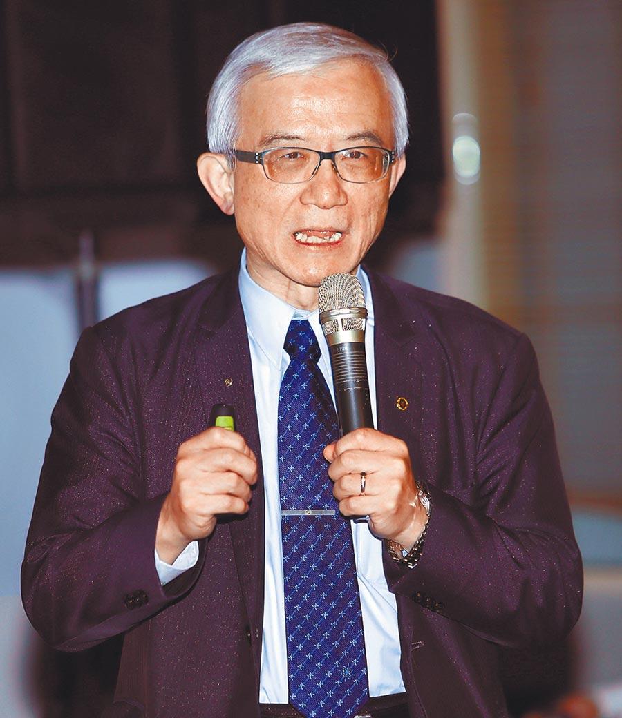 台湾人工智慧发展协会理事长谢邦昌表示,科技为医疗照顾带来更多可能性。(季志翔摄)