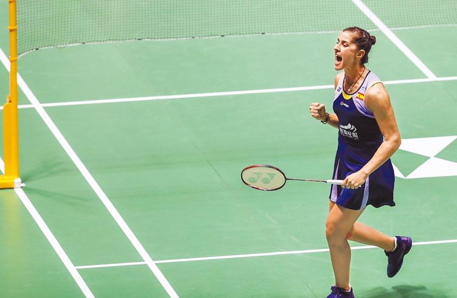 傷癒復出的馬琳在大陸公開賽殺入女單決賽,將與戴資穎爭冠。(新華社)