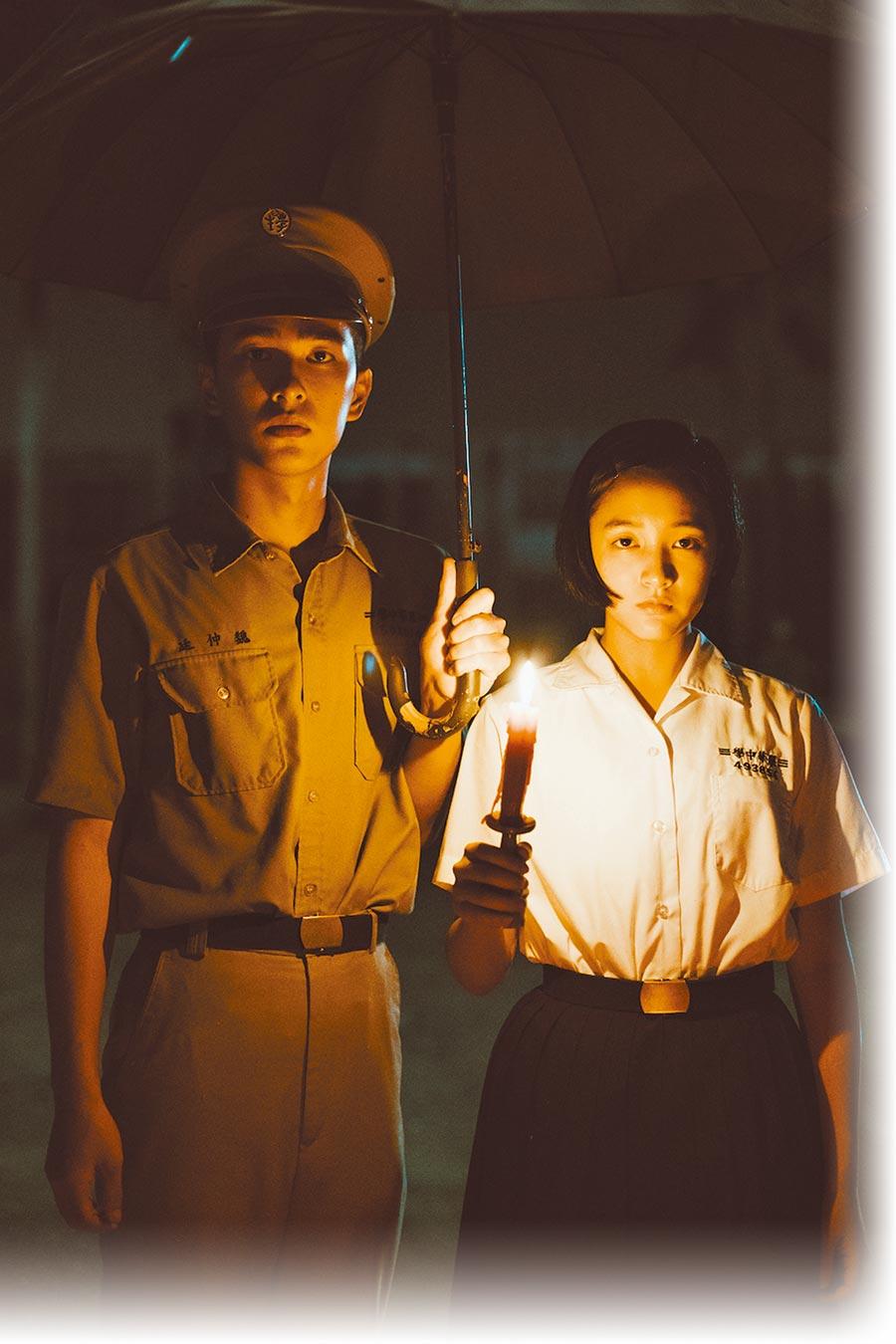 電影《返校》王淨(右)與曾敬驊擔任主角備受矚目。(影一製作所提供)