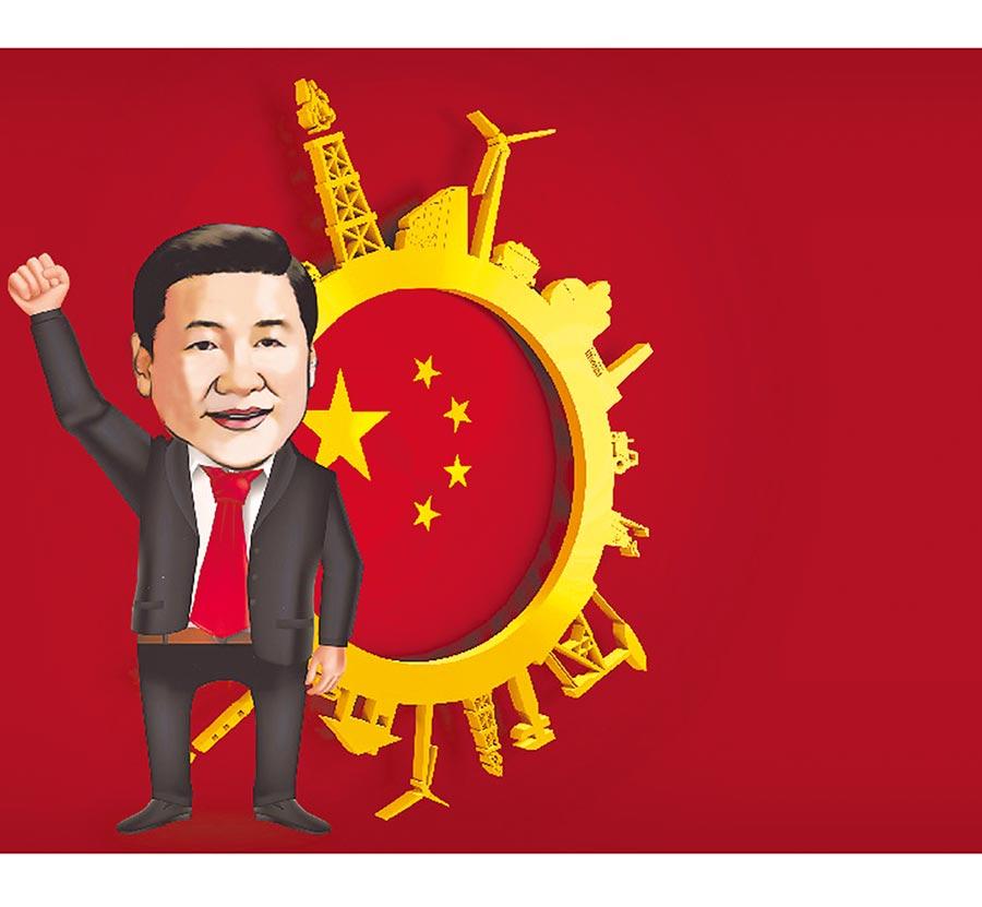 「北京模式」以有效市場及有為政府,與「華盛頓模式」別苗頭。(設計畫面)