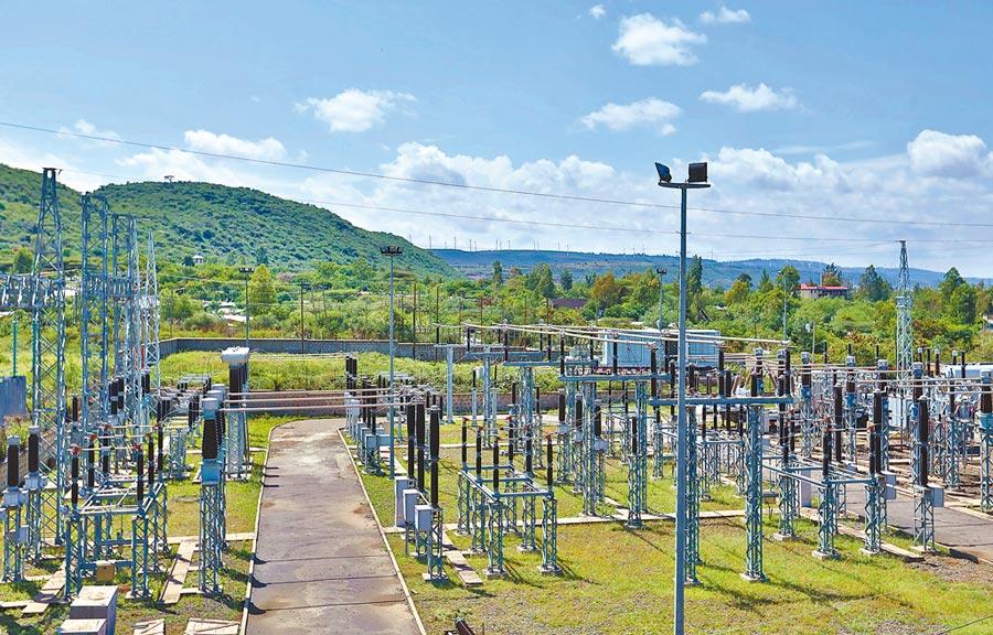陸企助力衣索比亞電網升級改造,圖為大陸援建的衣索比亞阿達馬市變電站。(新華社)