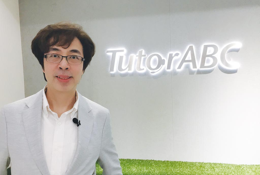 TutorABC教育科技類企業營運長沈沛鴻。圖/黃馨穎