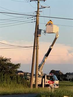 日颱風停電因在室內用發電機造成13人一氧化碳中毒