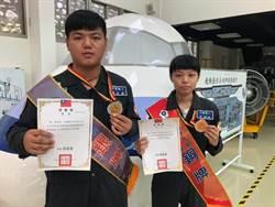 方曙商工飛修科2選手全國技能賽奪佳績