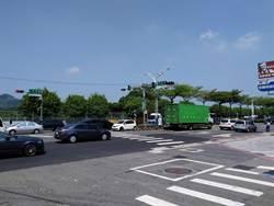 淡水民權路往民富街口 10月起實施時段性禁止左轉