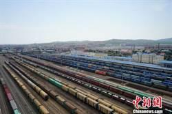 滿洲里口岸前8月進出境中歐班列線路達53條