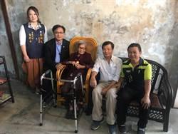 彰化市108歲女人瑞 愛喝魚湯補體力