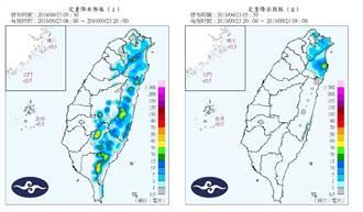 2降雨熱區曝光 彭啟明:10月颱易有共伴效應