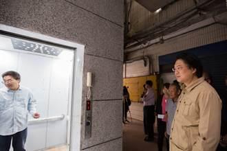 造福長輩 西定市場電梯10月啟用