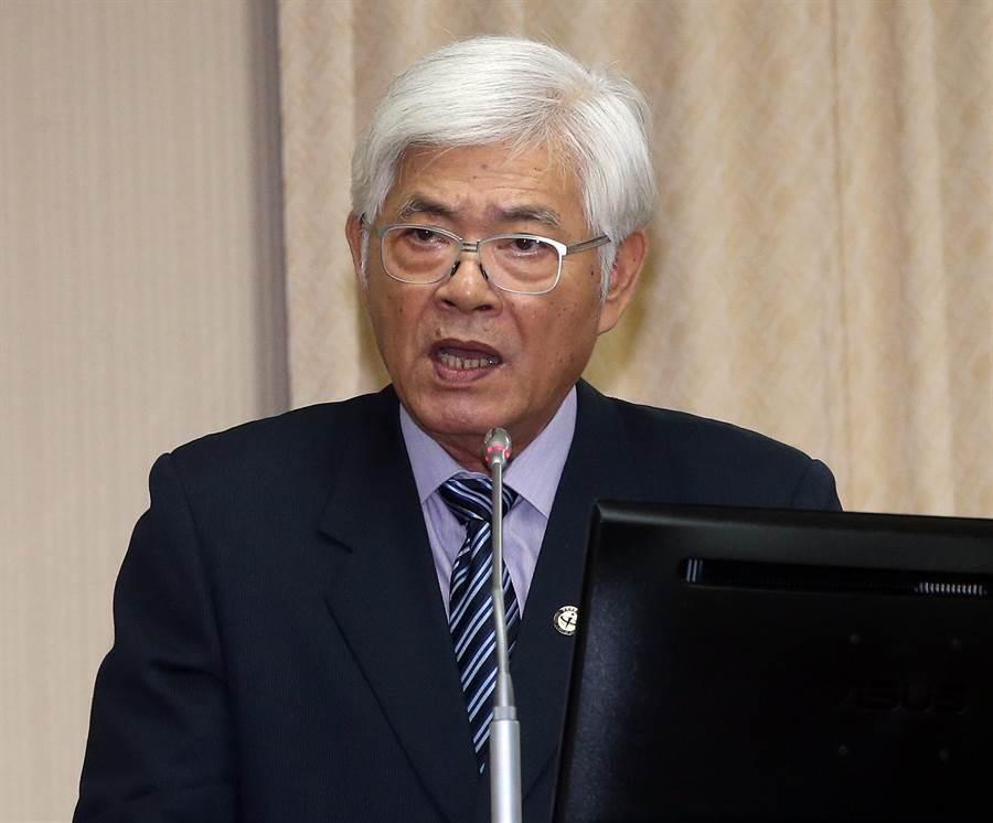 針對明年選舉,李進勇表示將增加1346個投票所。(趙雙傑攝)