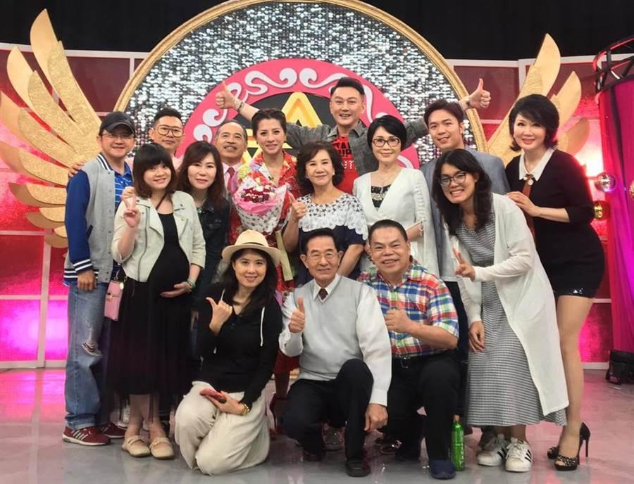 《命運好好玩》8月為郭靜純舉辦歡送會。(資料照)
