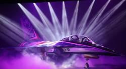 「勇鷹」飛揚 睽違40年國造新式教練機首度亮相