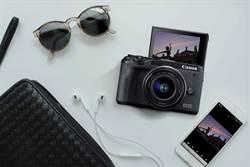 Canon推出APS-C微單EOS M6 Mark II