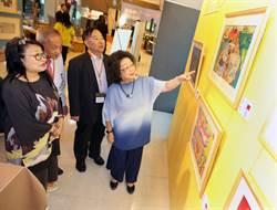 世界兒童畫展 桃機盛大開幕