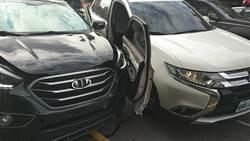 北市警板橋追逃犯遭車衝撞 開3槍逮人