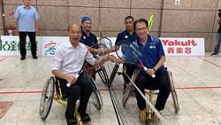 國際輪椅網球賽高雄開打 韓國瑜為選手打氣