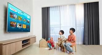 BenQ親子智慧電視 放心把遙控器交給孩子