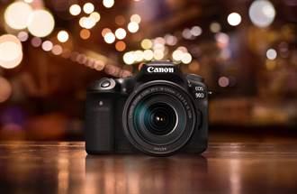 Canon新款APS-C數位單眼EOS 90D新上市