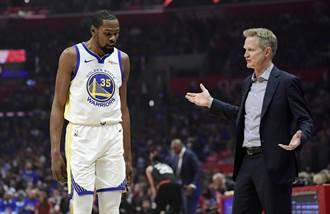 NBA》科爾不驚訝KD走人 原因非內訌