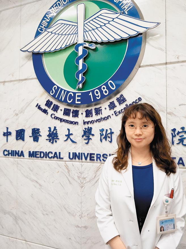 中國附醫腎臟科陳怡儒醫師表示,健保已將「末端補體抑制劑」納入部分條件給付,讓非典型溶血性尿毒症候群患者獲援助。(陳怡儒醫師提供)