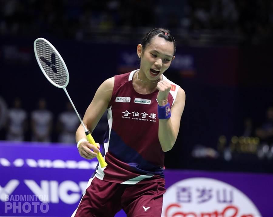 戴資穎本周世界排名回到球后寶座。(資料照/Badminton Photo提供、陳筱琳傳真)