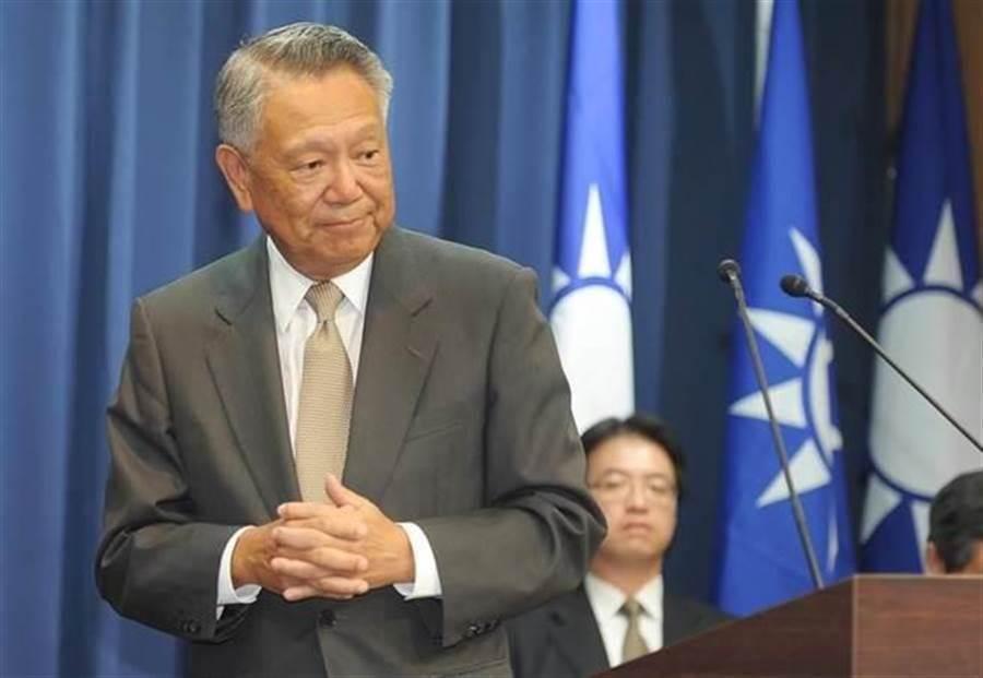 國民黨前副主席詹啟賢。(報系資料照)