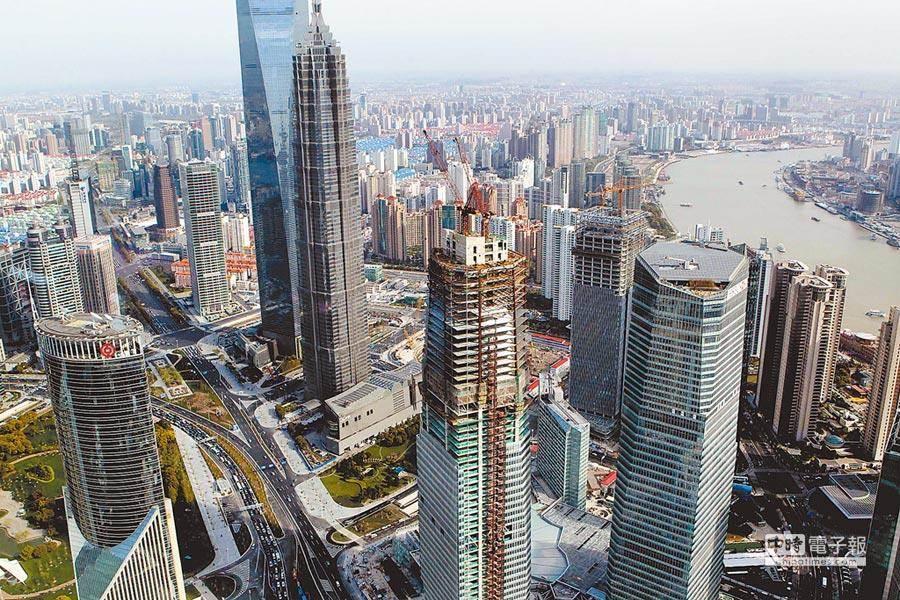 圖為上海陸家嘴—全球金融中心。(新華社)