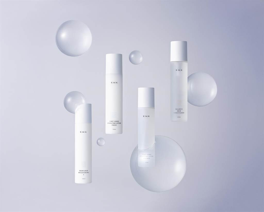 RMK煥膚美肌露系列產品視覺。(RMK提供)