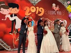 台鐵集團婚禮超浪漫 28對新人步入禮堂
