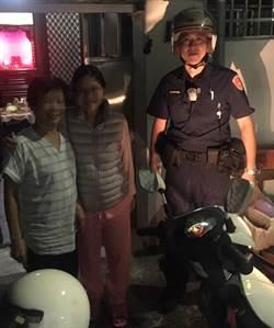 港媽來台探女迷路 警機車載她回女兒家