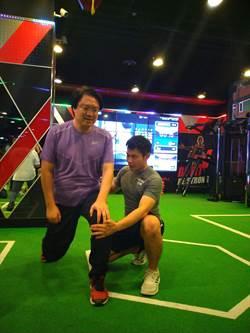 基隆》林右昌重訓狂練大肌肌 嗆聲「其邁!你會輸」