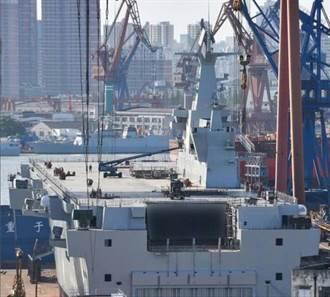 陸075兩棲攻擊艦防護火力曝光 堪比中型航母