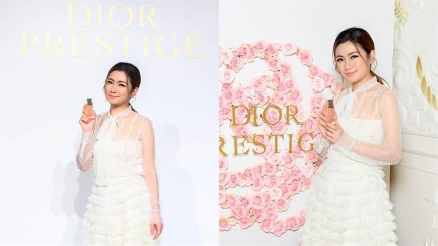 任家萱Selina擔任台灣首位迪奧花蜜美妍大使。(圖/品牌提供)