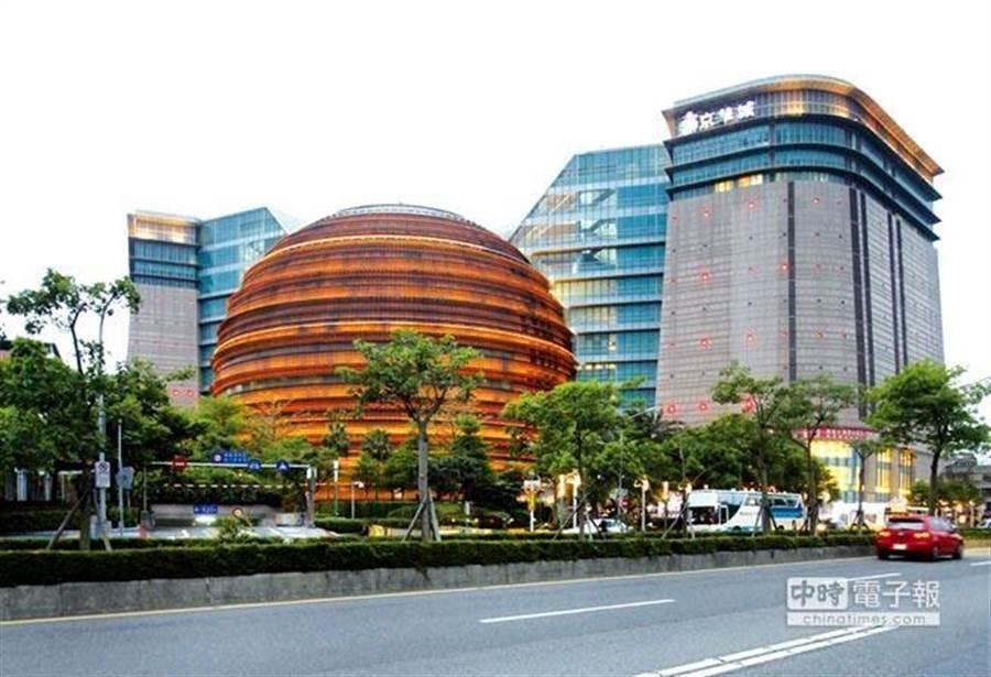 「世紀標案」台北市京華城購物中心25日下午2:30第4度標售。(圖/中時資料照)