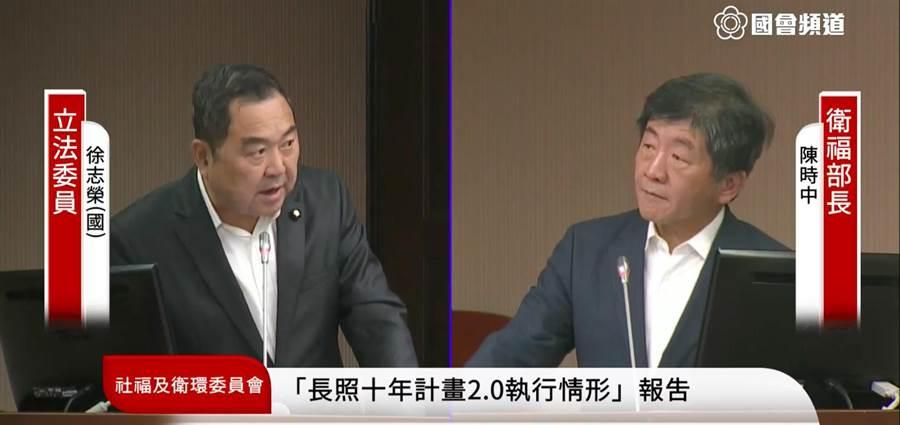 立委徐志榮表示,政府釋出惠民政策固然是美意,但在人力的配置上卻趕不及政策推動。(圖取自立法院官網)