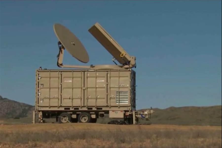 名為光炮(PHASER)的微波武器系統。(雷神官網)