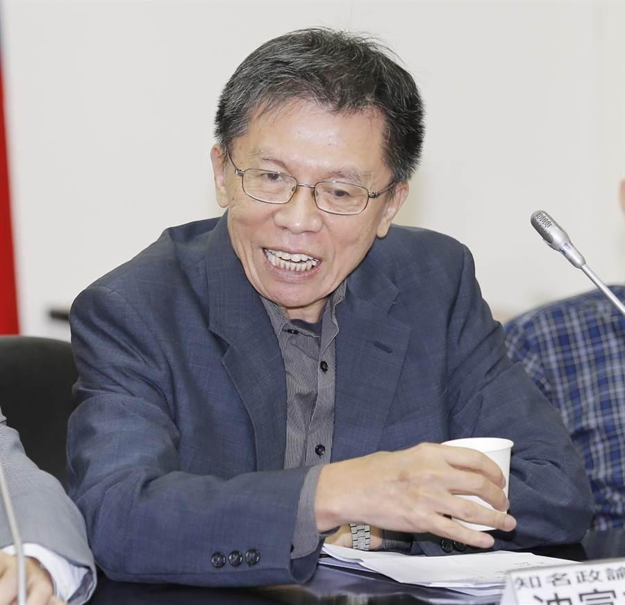 外傳前立委沈富雄毛遂自薦要當台灣民眾黨不分區立委第1名。(本報資料照)