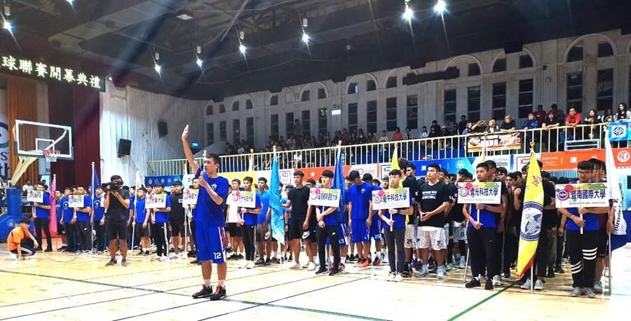 中區大學籃球聯賽即日起開戰,明星球員備矚目。(盧金足攝)