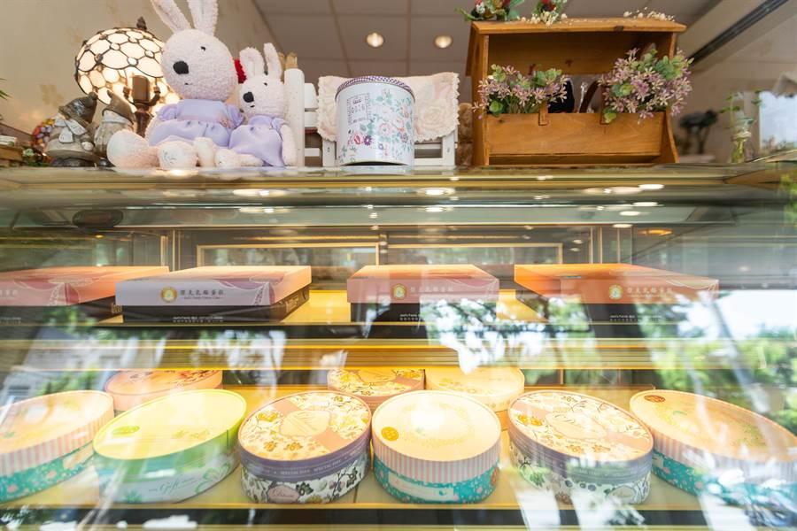 「傑克乳酪蛋糕專門店」是高雄最早開業的乳酪蛋糕店,高品質、CP值的特色一直深受消費者喜愛。(袁庭堯攝)