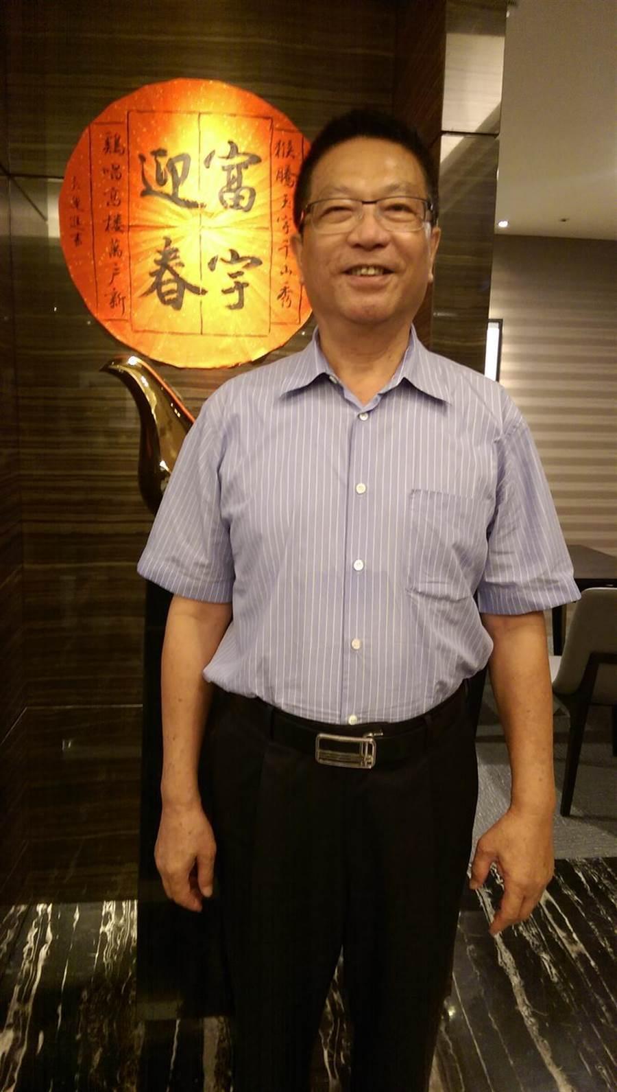 (富宇建設總經理鍾堯明看好桃園交通及產業利多帶來的人口紅利,未來將有助於房市發展。圖/曾麗芳)