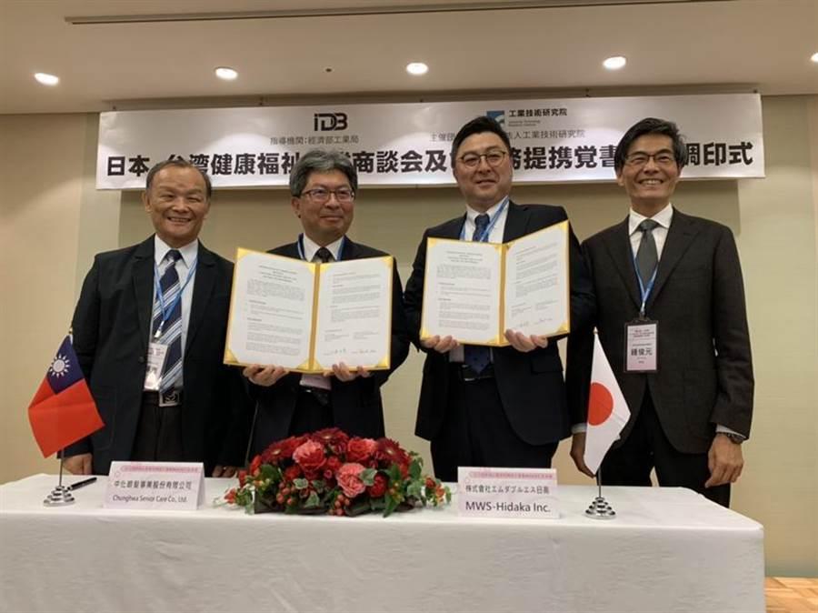 中化銀髮與MWS日高簽署合作意向書 引進日本「健康復能」社區照護系統 -