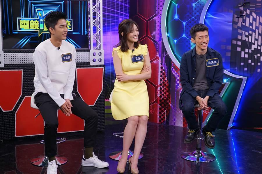 曾敬驊(左起)、王淨、徐漢強分享拍攝《返校》的心路歷程。(狼谷競技台提供)