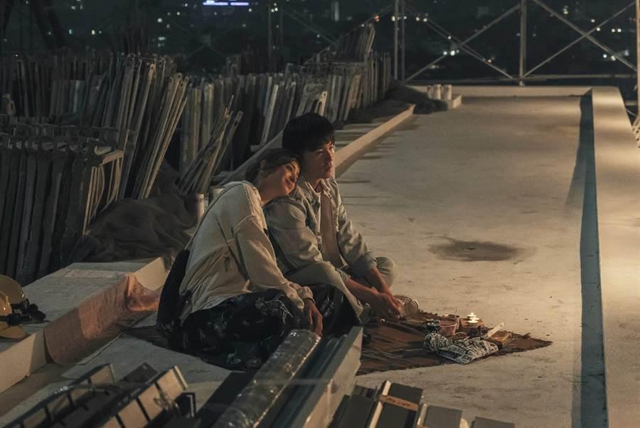 邱澤客串《用九柑仔店》飾演莫允雯前男友。(三立提供)