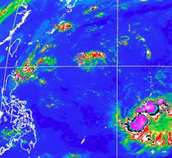 氣象局:準「米塔」颱風路徑曝光