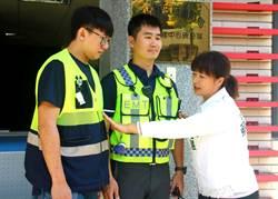 蔡培慧捐「新式救護反光背心」讓 隊員安心出勤