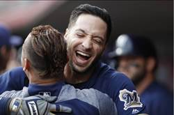 MLB》9月狂拿19勝 葉利奇受傷釀酒人仍進季後賽